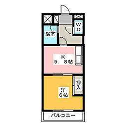 プリメーラ富塚[2階]の間取り