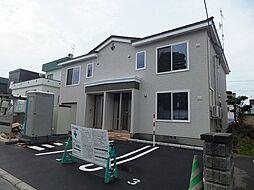 北海道札幌市豊平区美園七条8丁目の賃貸アパートの外観