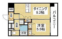Luxe新大阪II[2階]の間取り