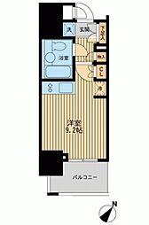 レジディア川崎[0604号室]の間取り