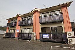 岡山県笠岡市富岡の賃貸アパートの外観