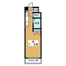 みつまめ京都[2階]の間取り