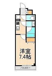 ユリカロゼ西新井駅前[503号室]の間取り