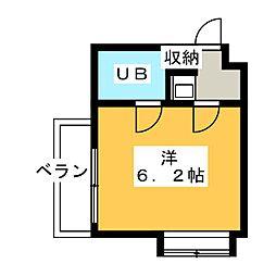 ロードパレス[3階]の間取り