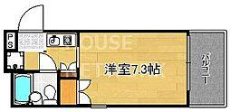 デ・リード京都東洞院[1001号室号室]の間取り