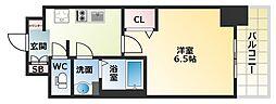 Osaka Metro中央線 九条駅 徒歩5分の賃貸マンション 9階1Kの間取り
