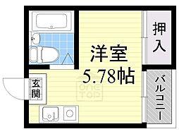 Collection城北1[2階]の間取り