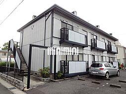 愛知県岡崎市森越町字森下の賃貸アパートの外観