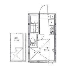 AZEST-RENT池袋II[1階]の間取り