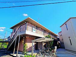 埼玉県入間市東藤沢2の賃貸アパートの外観
