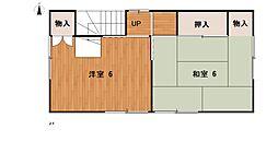 [一戸建] 埼玉県羽生市西4丁目 の賃貸【/】の間取り