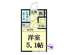 マグニフィセント鶴見[1階]の間取り
