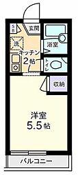 メゾンケーワイ山田[2階]の間取り