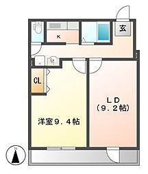 ピアニシキ[2階]の間取り