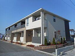 埼玉県鴻巣市北根の賃貸アパートの外観