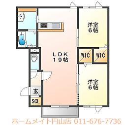 (仮称)北31条西5丁目 新築AP[1階]の間取り