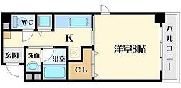 カラコレス穂波[2階]の間取り