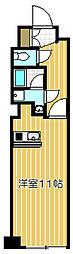 セザール第2武蔵小山[3F号室]の間取り