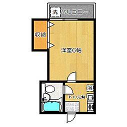 アルプ[2階]の間取り