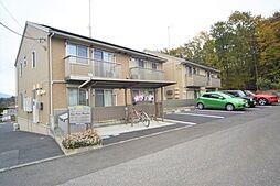 栃木県鹿沼市仁神堂町の賃貸アパートの外観