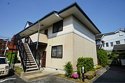 福岡県北九州市小倉南区徳吉西2丁目の賃貸アパートの外観