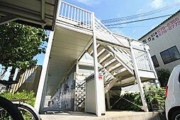 滋賀県大津市坂本3の賃貸アパートの外観