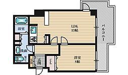 フローラルセントランド[4階]の間取り