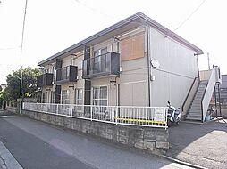 埼玉県志木市柏町1丁目の賃貸アパートの外観