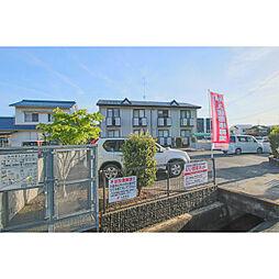 岡山県岡山市中区竹田の賃貸アパートの外観