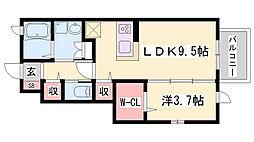 JR姫新線 本竜野駅 徒歩13分の賃貸アパート