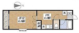 Mハウス[2階]の間取り