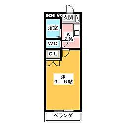 LIBERTE IWASAKI[2階]の間取り