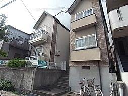 兵庫県神戸市中央区再度筋町の賃貸アパートの外観