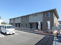 愛媛県松山市古川南3丁目の賃貸アパートの外観