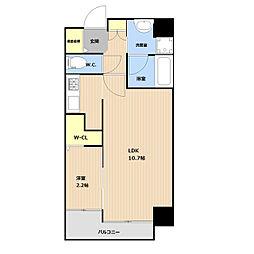 (仮称)平和3丁目マンション 3階1LDKの間取り