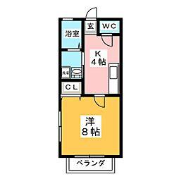 NJ ODAWARA7[1階]の間取り