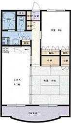 ファーストシティ湘南[3階]の間取り