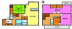 [一戸建] 千葉県松戸市二ツ木 の賃貸【/】の間取り