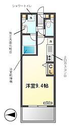 グラン・アベニュー西大須[3階]の間取り