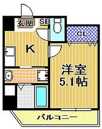(仮称)此花区梅香新築マンション[7階]の間取り