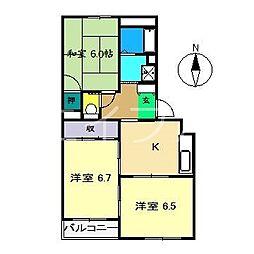 実希HOUSE[3階]の間取り