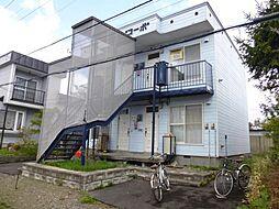 渥美コーポ[201号室]の外観