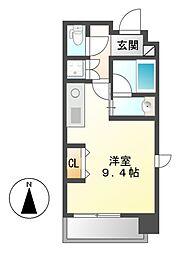 MINA葵(ミーナアオイ)[7階]の間取り