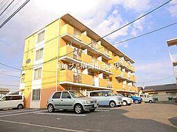 岡山県岡山市南区福富西2の賃貸マンションの外観