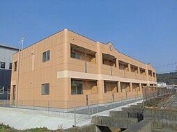 福岡県遠賀郡水巻町下二西2丁目の賃貸アパートの外観