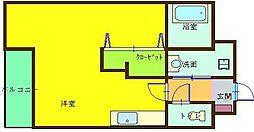 サンシャインIII[4階]の間取り