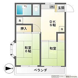メゾン寿香[3階]の間取り