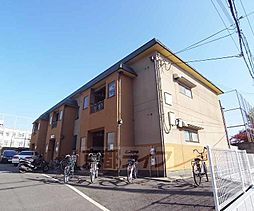 京都府京都市右京区太秦安井柳通町の賃貸アパートの外観