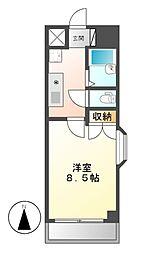 ウェステリア西大須[6階]の間取り