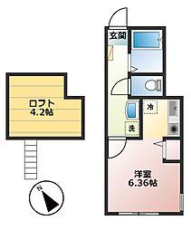 仮)小山1丁目新築物件[205号室]の間取り